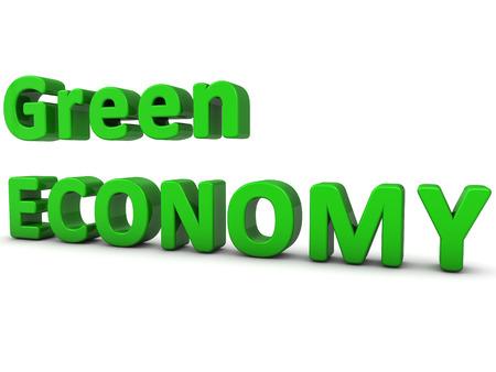 green economy: Green Economy Stock Photo