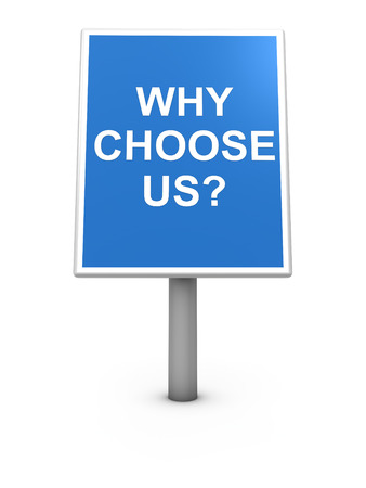 Why Choose us Stock Photo