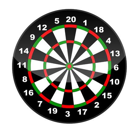 dart: Dart board