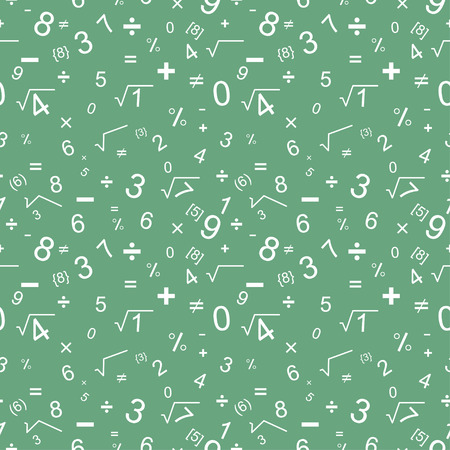tileable background: Maths seamless pattern