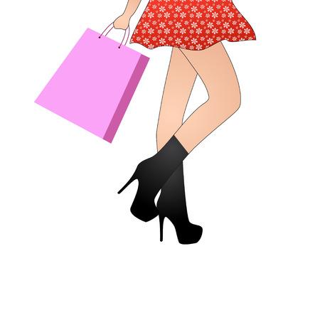 rich girl: Shopping Girl