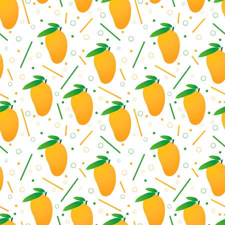 mangoes: Seamless mangoes pattern