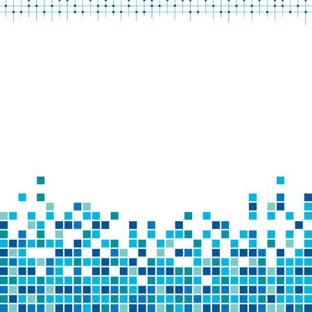 pixels: Corporate blue pixels background