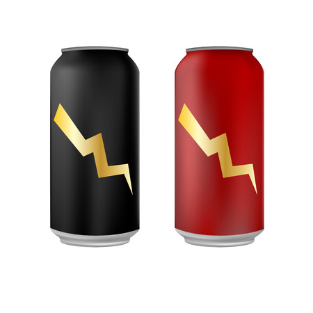energy drink: Energy drink cans
