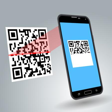 qr code: Scanning QR code