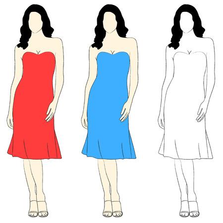 simple girl: Simple elegant girl fashion