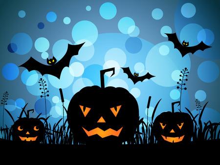 Halloween pumpkins Stock Photo - 41381336