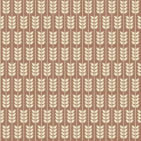 seamless pattern: Leaflets seamless pattern