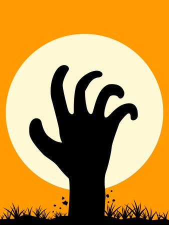 rising dead: Zombie Hand