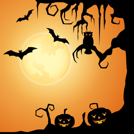 Halloween Evening Stock Photo - 41895986
