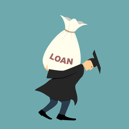 burden: Graduate under burden of loan