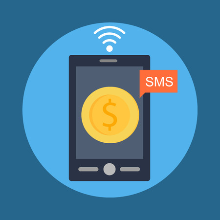 sms payment: Mobile Banking