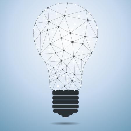 linkage: Technology Idea Bulb