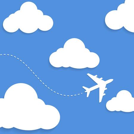 Улыбка, картинки для детей самолеты летят сквозь облака