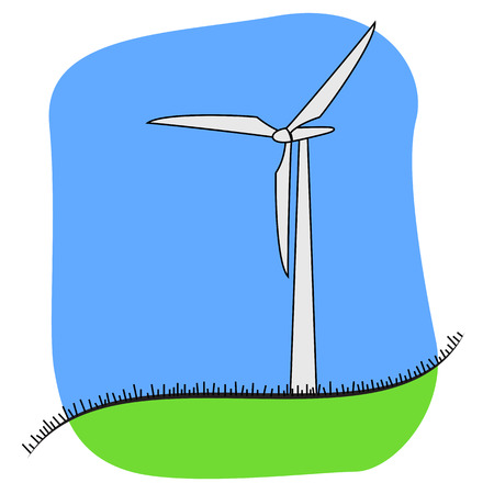 harnessing: Wind energy concept