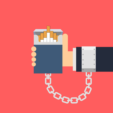 shackle: Cigarette addiction