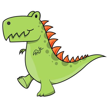 tyrannosaurus: Tyrannosaurus dinosaur illustration