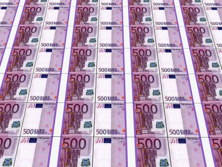billets euro: Les piles de billets en euros Banque d'images