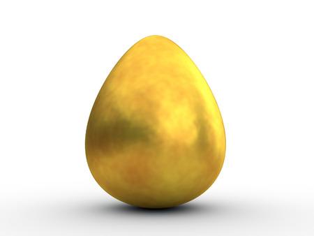 golden egg: Big golden egg