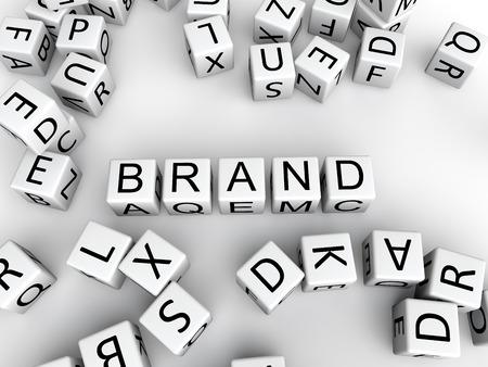 Brand concept Imagens