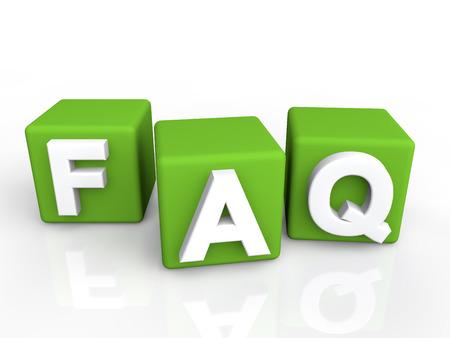 FAQ groene blokjes