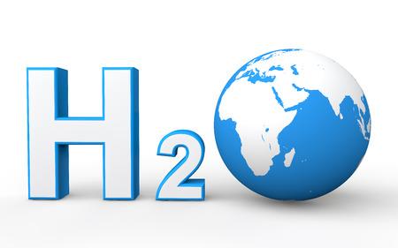 h2o: H2O with Earth globe
