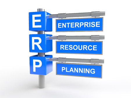 resource: Enterprise resource management Stock Photo