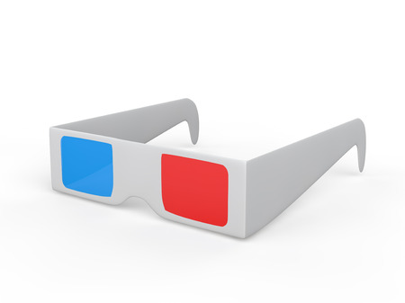 anaglyph: 3d glasses