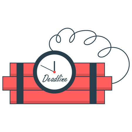 deadline: Time bomb deadline concept