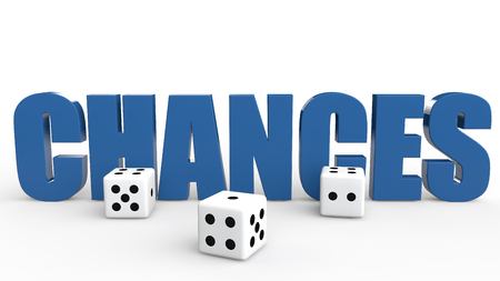 chances are: 3d dice and word chances