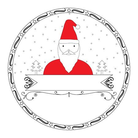 black and white: Black and white Christmas design
