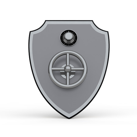 defend: 3d shield metal safe