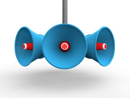 orador: altavoces 3d