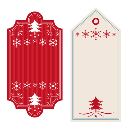 themed: Christmas themed blank banners