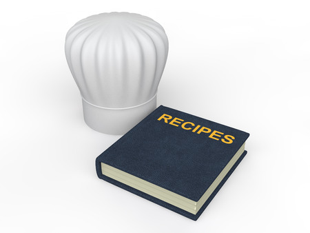 3d chef: 3d chef hat and recipes book