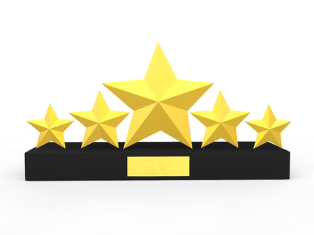 five stars: 3d golden five stars award