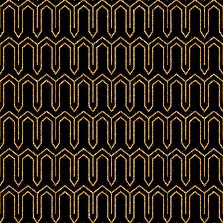 eastern: Gold glitter eastern pattern Stock Photo