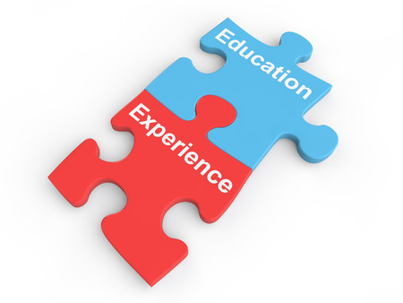 education: Education and experience puzzle