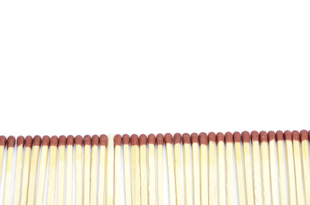 matchstick: Unique matchstick in a row