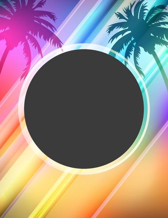 summer fun: Summer fun party flyer design