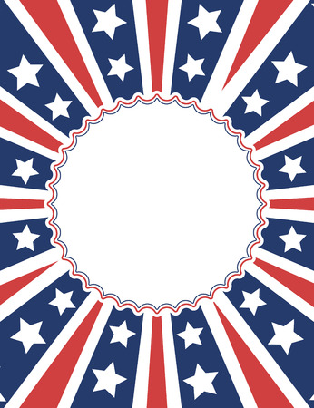 patriotic background: American patriotic background design
