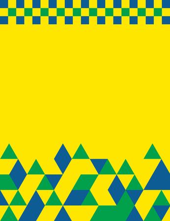 themed: Brazil themed banner design