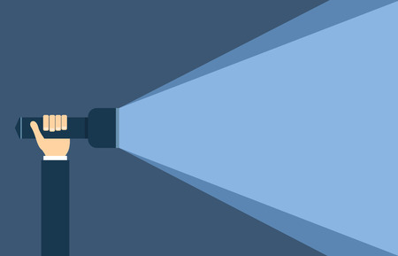 torch light: Flat style torch light background