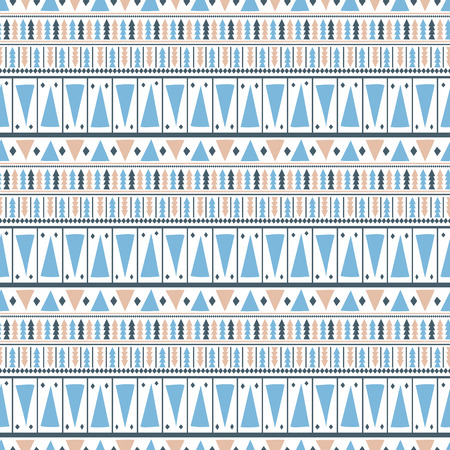 Abstract aztec seamless pattern Illustration