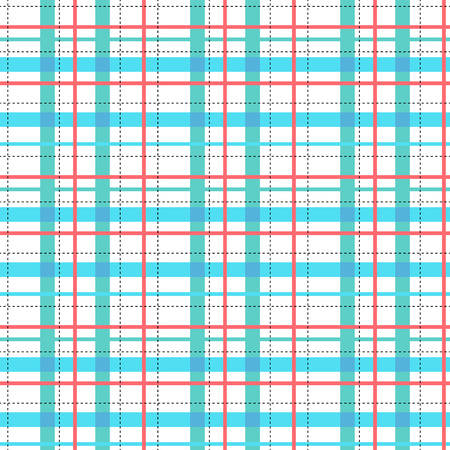 Blue and red stripes seamless pattern