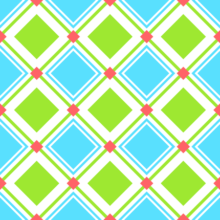 Squares pattern in baby themed colors.
