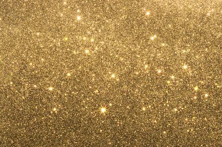 Gold sparkling glitter texture Stock Photo