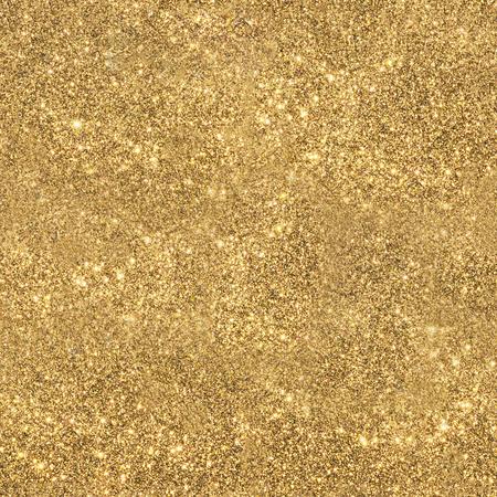 Gold sparkling glitter seamless texture