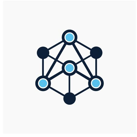 Technology logo design inspiration, technology concept Banque d'images - 143283847