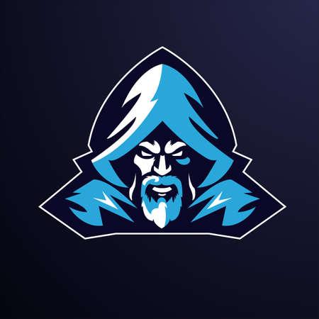 Wizard Design Logo Template for E-sport Logo